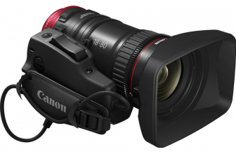 Free ZSG-C10 Zoom Servo Grip when you purchase a Canon COMPACT-SERVO lens