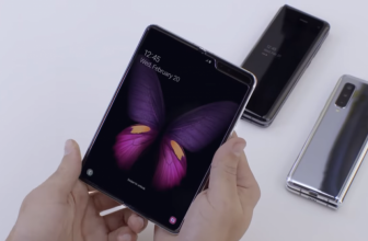 Samsung's future foldable clamshell may have its display on the outside