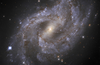 Hubble captures supernova 70M light-years away as it briefly outshines its host galaxy