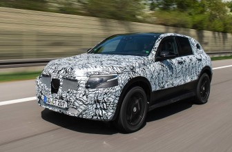 Mercedes shows off its EQC electric SUV prototype