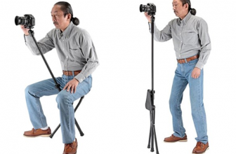 The 'Chairpod' is a chair-tripod hybrid that's either ridiculous or brilliant