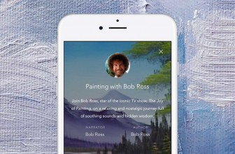 Bob Ross can mellow you out through a mobile app