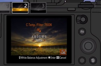 Sony unveils an in-camera graduated filter app