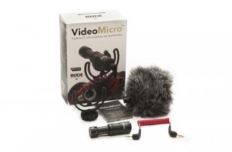 Free RØDE VideoMicro with every MZed Pro membership