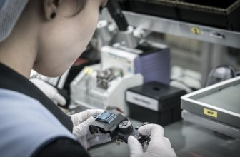 Behind the scenes on the Sony Alpha A9 production line