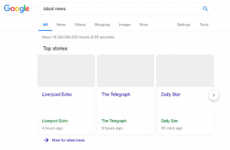 Google shows its bleak vision of search under new EU copyright laws
