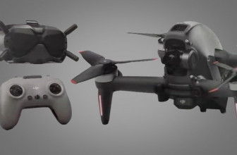 Leaked DJI FPV drone image gives us new clues about its camera and design