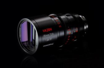 Vazen announces an $8,000 85mm T2.8 1.8x anamorphic lens for PL, EF mount cameras