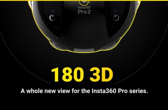 Insta360 adds 180° 3D Capture to Pro Camera Series