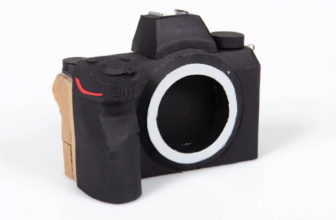 This is a Paper Mockup of the Nikon Full Frame Mirrorless Camera