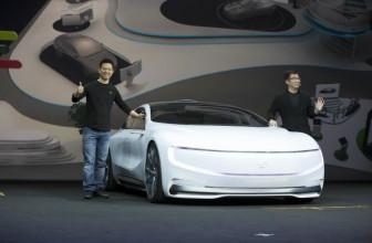 LeEco unveils driverless electric concept car alongside Le 2, Le 2 Pro and Le Max 2 smartphones