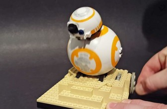 Now there's a working BB-8 droid made completely out of LEGO