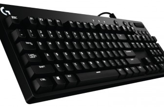 Logitech's G610 keyboard offers a choice of switches and backlighting tricks