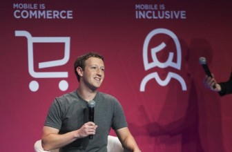 Facebook's Mark Zuckerberg both woos and lashes out at phone industry