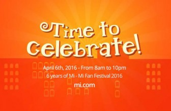 Xiaomi Mi Fan Festival to go live on April 6; first Mi 5 flash sale, Redmi Note 3 and more up for grabs