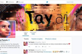 Microsoft shuts down 'Tay' AI chatbot after Twitteratti teaches it racism
