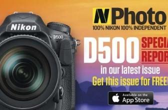 N-Photo magazine celebrates the arrival of Nikon D500