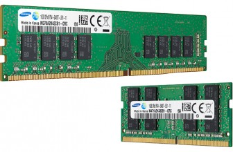 Samsung Begins To Produce DDR4 Memory Using '10nm Class' Process Tech