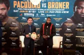 Pacquiao vs Broner live stream: how to watch tonight's boxing online from anywhere