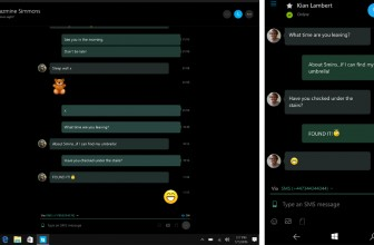 Skype allows Windows 10 testers to send texts from their PCs