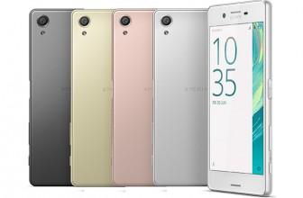 Sony Unveils New Xperia X Smartphones
