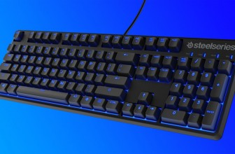 SteelSeries' minimalistic, mechanical keyboard is for competitive gamers