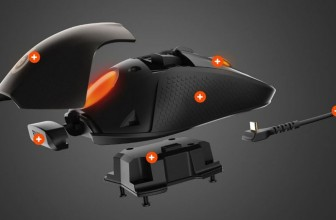 SteelSeries' new modular gaming mouse has its own OLED screen