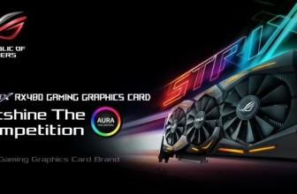 ASUS Reveals Their New RX 480 GPU Design