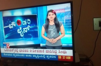 Social media cannot stop talking about the TV news anchor who had 'shut the f**k up' written on her t-shirt