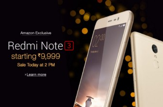 Xiaomi Redmi Note 3 to go on sale at 2PM today: Price, specifications and features