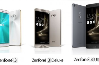 COMPUTEX: Massive: Asus Zenfone 3 phones launch with 6GB of RAM and 6.8-inch display